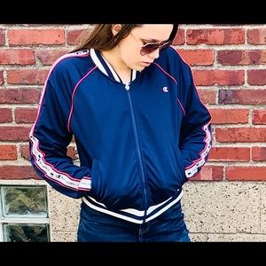 Navy Champion Jacket